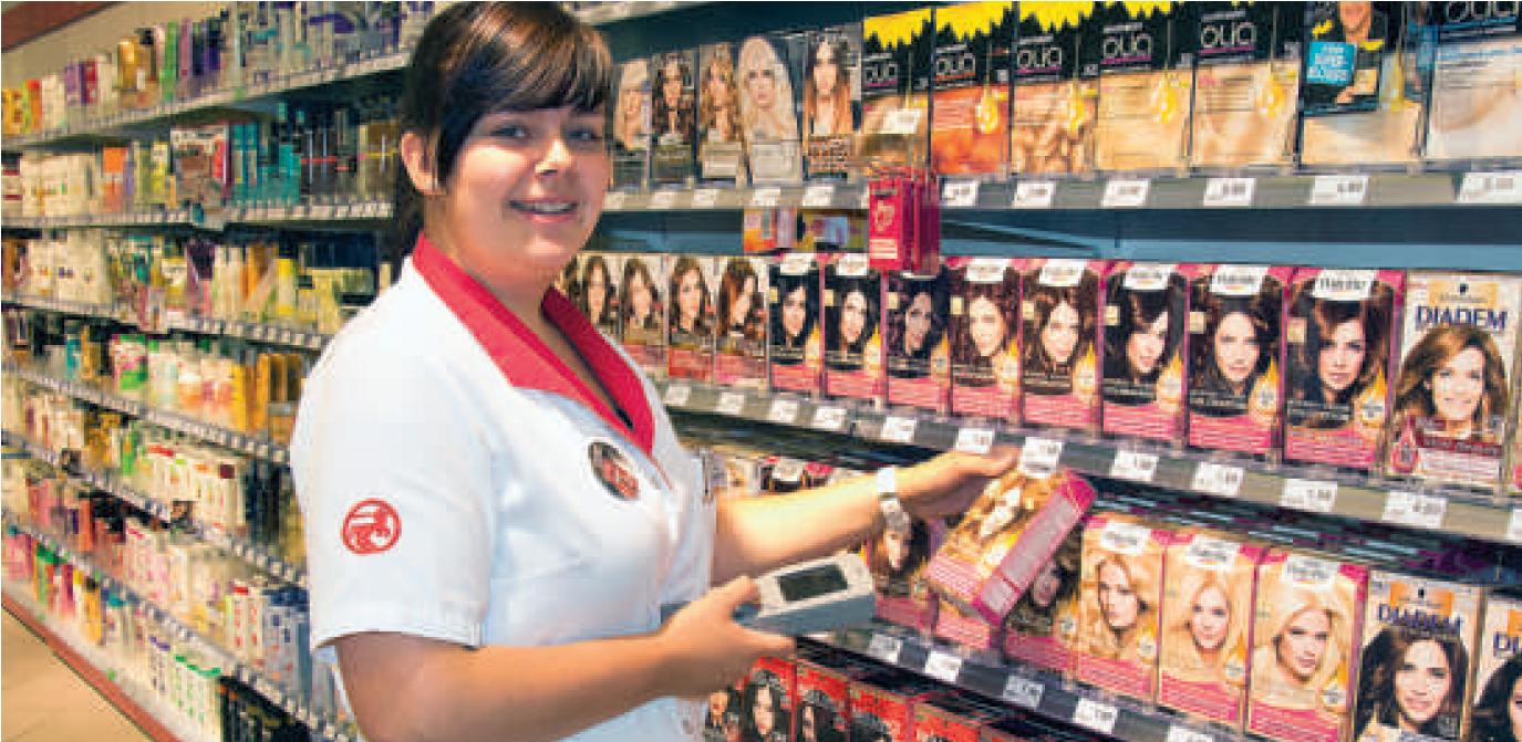 Kaufmann Frau Im Einzelhandel